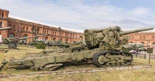 203- mm howitzer B-4, mod.1931 Stock Photo