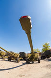 The 152 mm howitzer 2A65 MSTA-B Stock Image