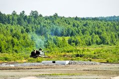 The 152 mm howitzer 2S19 Msta-S. Russia Royalty Free Stock Photos