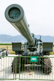 203 mm howitzer times of the Second World War. Museum of militar Stock Photography