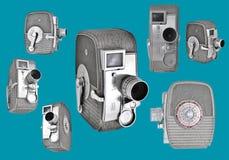 8mm Kameras Stockbild
