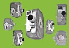 8mm kamery Obrazy Stock
