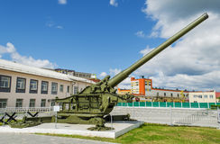 210 mm-kanon M1939 (br-17) Stock Foto