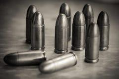 9mm Kugel für ein Gewehr Lizenzfreies Stockfoto
