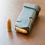 9mm Kugeln Lizenzfreie Stockfotos