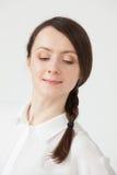 2 200mm 70 8l καλυμμένες χαμογελώντας usm νεολαίες γυναικών κανόνων φ πορτρέτο Στοκ εικόνα με δικαίωμα ελεύθερης χρήσης