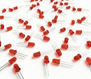 3mm led diode Stock Image