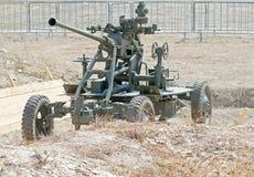 37mm luchtafweerkanon Stock Afbeelding