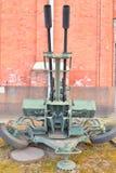 23mm luchtafweerkanon, zu-23 Stock Afbeelding