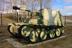 75 mm 38M Marder自走反坦克枪德国 图库摄影