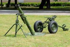 120 mm moździerz Zdjęcia Royalty Free