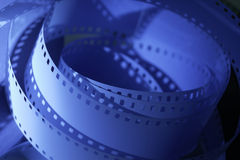 35mm motion picture film. 35 mm unprocessed film for cinematography stock image