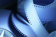 35mm motion picture film Royalty Free Stock Images