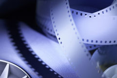 35mm motion picture film Stock Photos