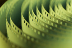 35mm motion picture film Royalty Free Stock Photo