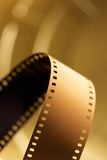 35 mm Motion Picture Film. 35 mm unprocessed film for cinematography Stock Photo