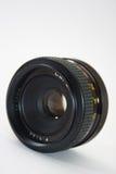 55mm motsvarighetlins i nära sikt Royaltyfri Bild