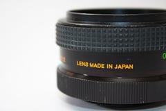 55mm motsvarighetlins i nära sikt Royaltyfri Fotografi
