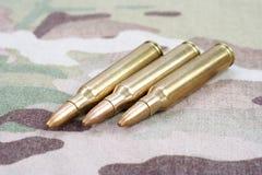 5 56mm NATO-Runden Lizenzfreies Stockbild