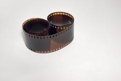 35mm negatieve ontwikkelde fotofilm Stock Foto's