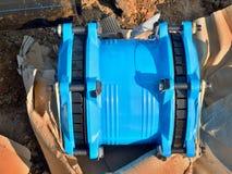 250mm neues waga multi gemeinsame Mitglieder Neue Ersatzteile für die Reparatur der Rohrleitung Lizenzfreies Stockbild