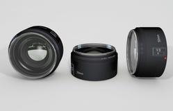 50mm obiektyw Zdjęcie Stock