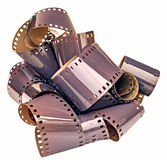 35mm outvecklad filmremsa Royaltyfri Fotografi