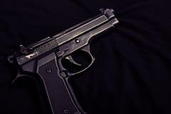 9mm pistol Royaltyfri Fotografi