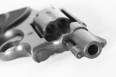A 38mm pistol gun Royalty Free Stock Photo