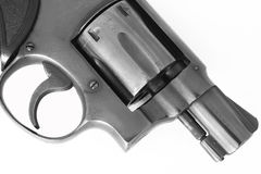 A 38mm pistol gun Stock Photography