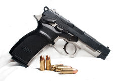 9mm Pistol Stock Image