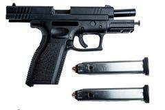 9mm Pistole Lizenzfreie Stockfotos