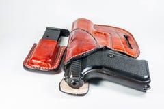 9 mm-pistool Royalty-vrije Stock Fotografie