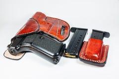9 mm-pistool Royalty-vrije Stock Foto's