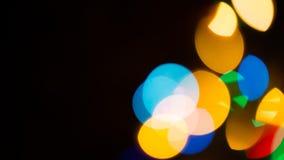 50mm plam tła wpływu pożarów nocy nikkor strony strona Zdjęcie Royalty Free