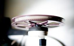 8mm purpurrote Ansicht Spule super8 von der Spitze Lizenzfreies Stockbild