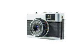 40mm Retro Film Camera isolated on white background Stock Photos
