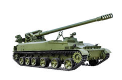 152-mm self-propelled gun 2С5 Stock Images