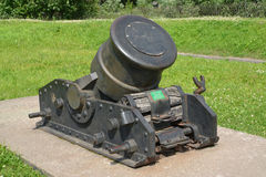 334-mm serf mortar of the XIX century (sample of 1838).  Stock Images