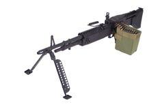 62mm som 7 maskinen för armékalibertrycksprutan m60 gjorde fortfarande oss USA att använda använt vietman, kriger Royaltyfri Fotografi