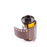 35mm Still Camera Film IV. 35mm still camera film cartridge over white background Royalty Free Stock Images