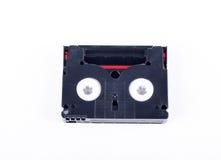8mm Videoband auf weißem Hintergrund mit Lizenzfreies Stockbild