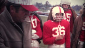 (8mm Vintage) Football Coach Rallying The Team