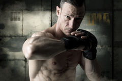 MMA athlete Stock Images