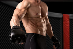 MMA athlete Stock Image