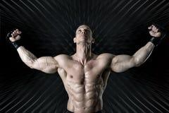 MMA athlete Royalty Free Stock Image
