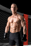 MMA athlete Royalty Free Stock Photo