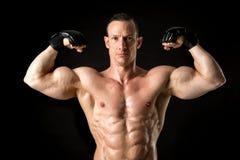MMA athlete Royalty Free Stock Photos