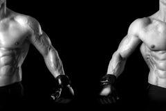 MMA athletes Stock Images