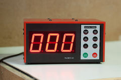 MMA Digital Timer Stock Image